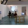 Matei Bejenaru în dialog cu Maria Lind la Bienala Internaţională de Artă din Göteborg