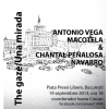 """The gaze/ Una mirada"", pe soclul din Piața Presei Libere"