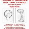 """Expoziția de grafică """"La Déesse du temps perdu (Zeiţa timpului pierdut)"""" de Rudy Roth, la Biblioteca Metropolitană București"""
