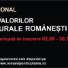 """Înscrierea la concursul """"Tribut Valorilor Culturale Româneşti"""" s-a încheiat!"""
