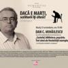 Lectură în premieră dintr-un nou volum semnat de Dan C. Mihăilescu