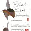 """Expoziţia de grafică """"Blind Spot"""" de Voicu Dragomir"""