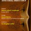 """Daniel Barbu, ministrul Culturii şi al Patrimoniului naţional, la """"Cafeneaua critică"""""""