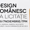 Prima licitație de design românesc de obiect