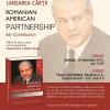 "Adrian Năstase lansează ,,Romanian-American Partnership. My Contribution"""