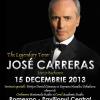 Jose Carreras, în concert la București