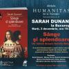 """Sarah Dunant lansează """"Sânge şi splendoare"""" la București"""