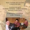 Primul CD cu Valentin Gheorghiu şi Gabriel Croitoru va fi lansat la Sala Radio