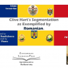 """Clive Hart's Segmentation as Exemplified by Romanian"", lansat online"