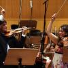 Violoniștii Liviu Prunaru și Valentina Svyatlovskaya cântă pe viori Stradivarius și Guarneri, la Sala Radio