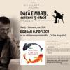 """Bogdan O. Popescu citește din """"Cartea dragostei"""""""