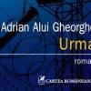 """Adrian Alui Gheorghe lansează """"Urma"""", la Iași"""