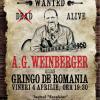 """AG Weinberger este """"""""Gringo de România"""", pe scena Teatrului Excelsior"""
