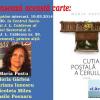 """Maria Postu lansează volumul de versuri """"Cutia poştală a cerului"""""""