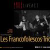 Muzică franțuzească la București, cu Les Francofolescos Trio