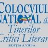 Colocviul Naţional al Tinerilor Critici Literari, ediţia a VIII-a