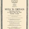 """""""Vocea ta contează"""",  la Opera Naţională Bucureşti"""