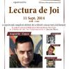 """Augustin Cupşa, în """"Lectură de Joi"""""""