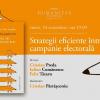 "Dezbatere ""Strategii eficiente într-o campanie electorală"", la Librăria Humanitas"