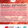 """Programul de artă publică """"Spaţiu expandat"""", în Parcul Izvor"""