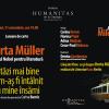 Lansare de carte Herta Müller, la Librăria Humanitas