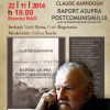 Claude Karnoouh, lansare de carte și întâlnire cu prietenii, la Gaudeamus 2014