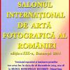 Salonul Internațional de Artă Fotografică al României, ediția a 19-a