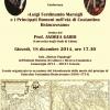"""Conferința """"Luigi Ferdinando Marsigli şi Principatele Române în epoca lui Constantin Brâncoveanu"""", la Institutul Român de Cultură şi Cercetare Umanistică de la Veneţia"""