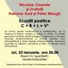 """""""Ecuaţii poetice: C+B+L= V³"""", la Viena"""