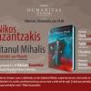 Seară Nikos Kazantzakis, la Librăria Humanitas de la Cișmigiu