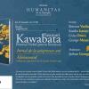 Seară japoneză dedicată scrierilor autobiografice ale lui Yasunari Kawabata, la Librăria Humanitas