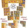 Descoperă alfabetul florilor ilustrat cu măiestrie pe timbrele românești