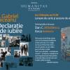 """Lansare de carte și sesiune de autografe- """"Declarație de iubire"""", de Gabriel Liiceanu"""
