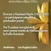 Vocea Marianei Marin, la Cafeneaua critică
