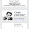 """Lucian Mîndruţă lansează """"Share!"""", la Timișoara"""