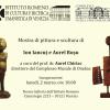 Expoziţia de pictură şi sculptură a artiştilor vizuali Ion Iancuţ şi Aurel Roşu, în Noua Galerie IRCCU Veneţia