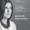 """40 de zile"", noul roman al lui Chris Simion, lansat la Librarium Palas din Iaşi"