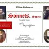 """Contemporary Literature Press  anunță publicarea volumului """"William Shakespeare-  Sonnets. Sonete. Parallel Texts"""""""