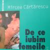 Lectură Mircea Cărtărescu la Facultatea de Arte a Universităţii Ljubljana