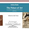 """""""The Palace of Art- Antologie de literatură Victoriană- Texte paralele"""", de Adrian Radu"""