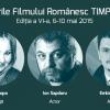 Tudor Giurgiu, Răzvan Săvescu, Tania Popa, Ion Sapdaru și Emilian Oprea se vor întâlni cu ieșenii la SFR TIMPUL, ediția a VI-a