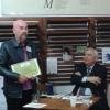 Aleksander Nawrocki a primit Diploma de Excelență, la Festivalul Internațional de Poezie
