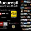 """Expoziția foto """"București- Subiectiv prin Obiectiv"""", pe gardul Muzeului Municipiului București"""