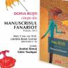 """Doina Ruşti citeşte din """"Manuscrisul fanariot"""", la Librarium Cluj-Napoca"""