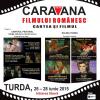 """""""Caravana filmului românesc"""", la Turda"""