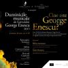 Violoniștii Alexandru Tomescu și Renaud Capuçon povestesc despre George Enescu, la Librăria Humanitas Cișmigiu
