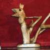 "Expoziție de sculptură, ""Ausstellung mit Holzschnitzereien"", la Reșița"