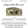 """Conferință: """"Elitele intelectuale din Europa de Est: de la disidenţa anticomunistă la integrarea euroatlantică"""""""