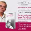 Dan C. Mihăilescu despre cea mai nouă carte a sa, la Librăria Humanitas de la Cişmigiu