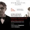 """Lansare și sesiune de autografe – Horia-Roman Patapievici, """"Partea nevăzută decide totul"""""""